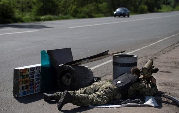 Пригороды Славянска обстреляли из самоходных гаубиц