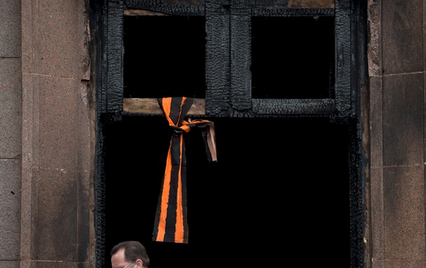 В Одессе подожгли штаб Юлии Тимошенко
