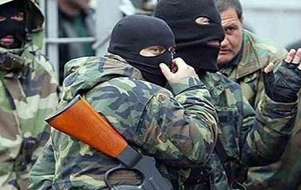 В Краматорске вооруженные люди захватили здание Донбасстрансгаза