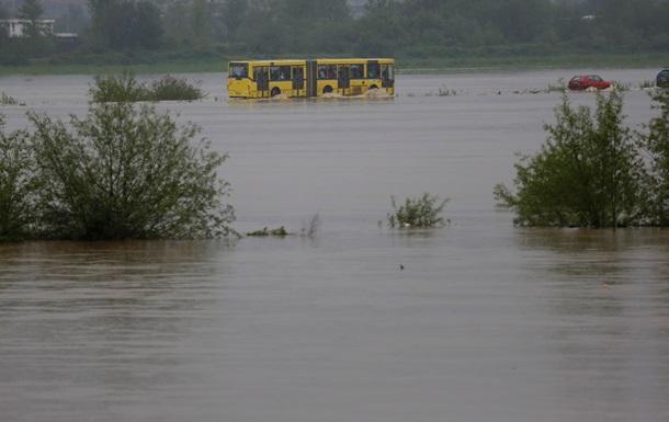 В Боснии и Герцеговине жертвами наводнения стали 16 человек