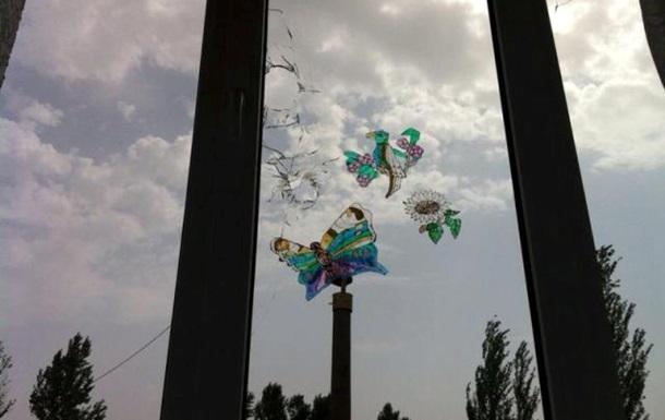 Детский приют в Славянске попал под обстрел