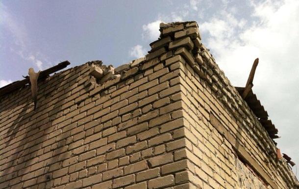 В Славянске обстреляли детский дом