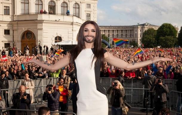 Кончита Вурст хочет приехать в Москву