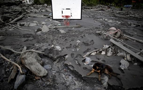 Трупы людей и животных в разрушенных городах