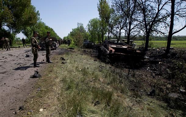 Стали известны имена шестерых военных, погибших возле Волновахи