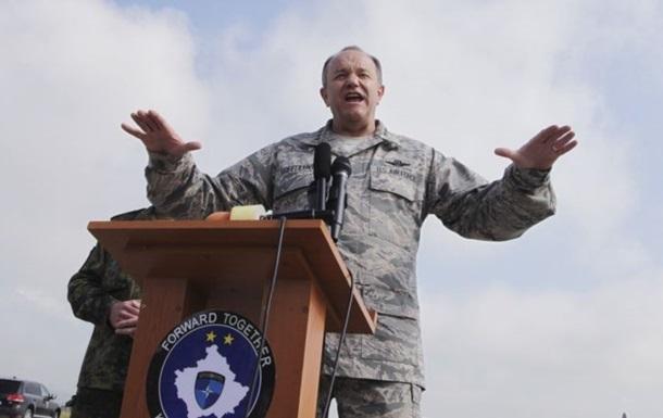 Главком НАТО сомневается в отводе российских войск от Украины