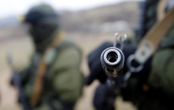 В Луганской области неизвестные отобрали оружие у пограничников