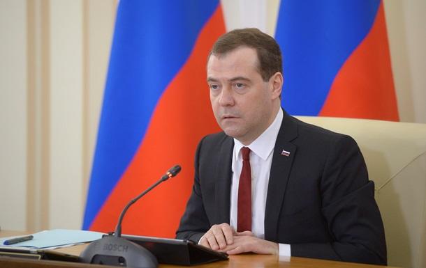 Медведев проведет два дня в Крыму