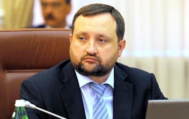 Арбузов заявил, что стал мишенью для Киева