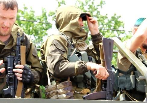 Гуманитарная помощь  из Чечни (Донецк)