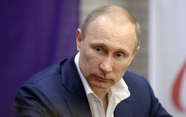 Путин призвал прекратить АТО