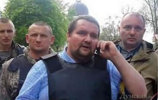 В Одессе задержали мужчину, стрелявшего по Дому профсоюзов во время пожара