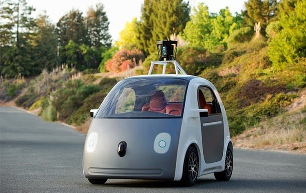 Без педалей и руля. Google представил беспилотный автомобиль