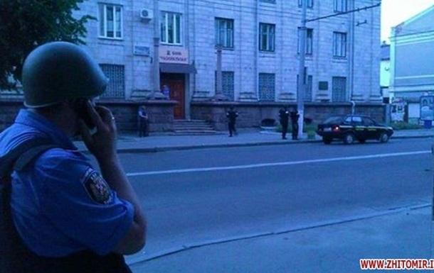 В Житомире задержаны 22 подозреваемых в нападении на офис Правого сектора