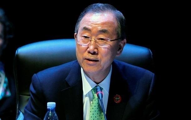 Пан Ги Мун готов быть посредником в урегулировании кризиса в Украине