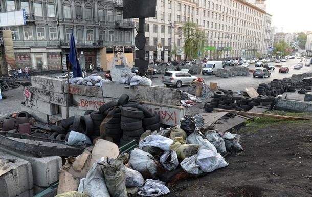 Майдановцы готовы вступить в Нацгвардию и свернуть еще несколько палаток на Крещатике – Кличко