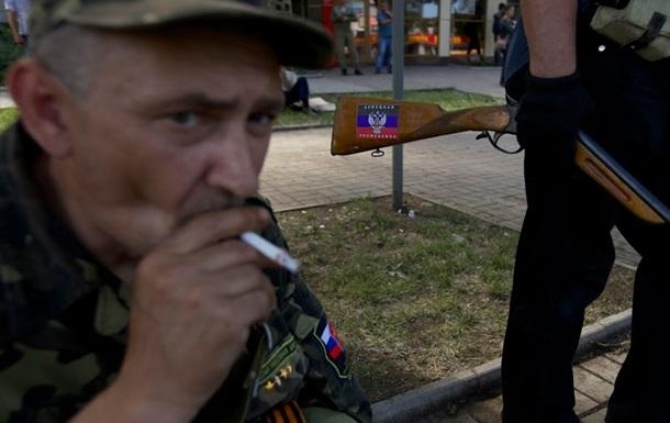Боевики заявляют, что в ходе сегодняшнего обстрела Славянска погибло много мирных жителей