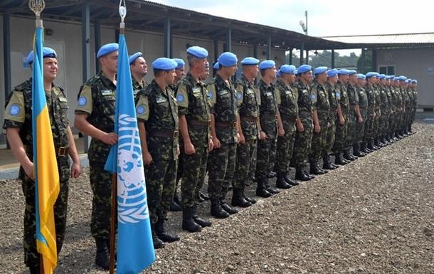 Для участия в АТО Украина может вернуть своих миротворцев из Африки