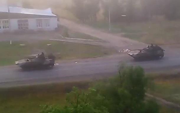 Украинская армия направила военную технику в Северодонецк