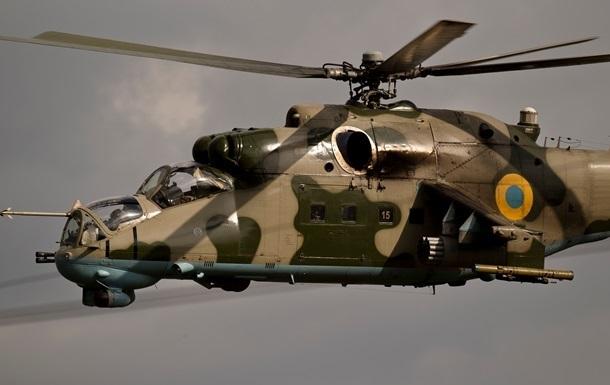 Под Славянском продолжается бой, ополченцев обстреливают вертолеты – СМИ