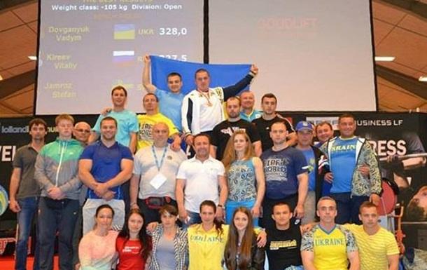 Довганюк, Зальотов, Дячук, Балуков та Чупринко – чемпіони світу з жиму лежачи