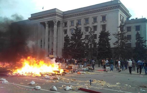 МВД подозревает 40 человек в совершении преступлений в Одессе 2 мая