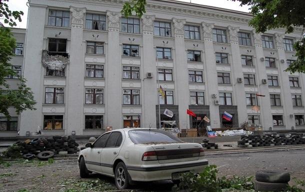 В сети появилось видео возможной причины взрыва Луганской ОГА