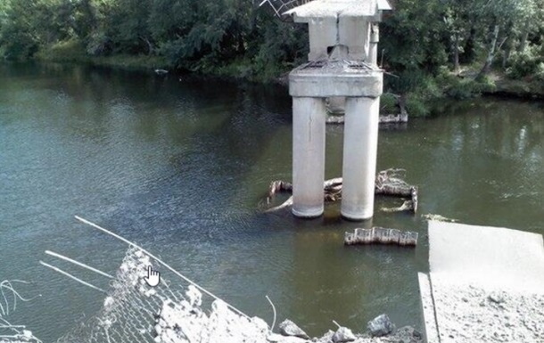 В Лисичанске взорвали железнодорожный мост – СМИ