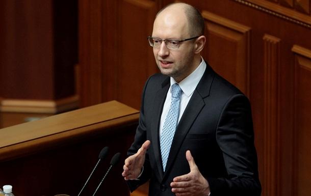 Яценюк обвинил Россию в воровстве крымского газа
