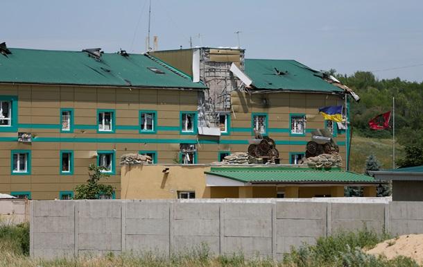 Луганские пограничники до сих пор  не получили наземного подкрепления