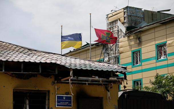 Луганский погранотряд окружили казаки с минометами и РПГ