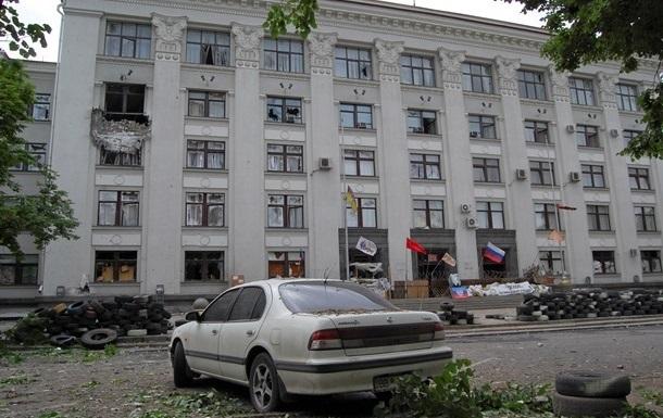 В здание Луганской ОГА попали ракеты, выпущенные с самолета - ОБСЕ