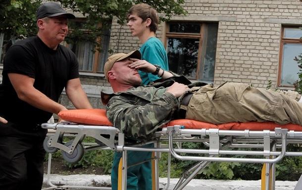 После боев в Луганске в больницу поступило более 20 граждан с огнестрельными ранениями - СМИ