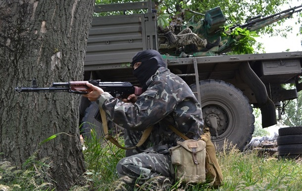 В Славянске заявляют о сбитом украинском вертолете