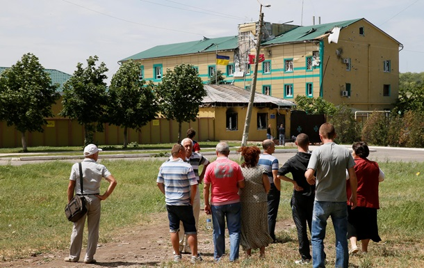 Ополченцы заявили о завоевании погранчасти в Луганске