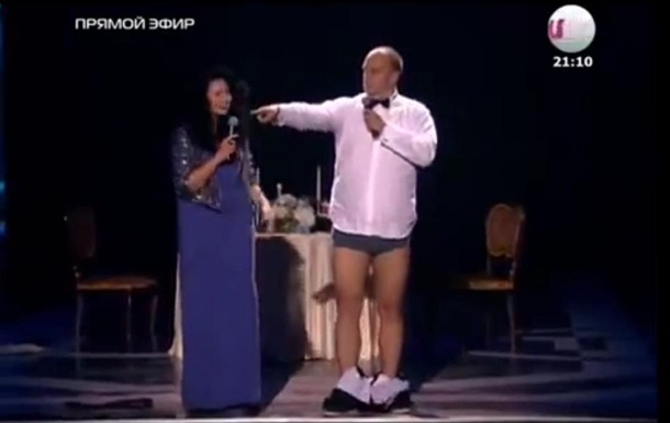 На премии RU.TV певец Потап поблагодарил Россию