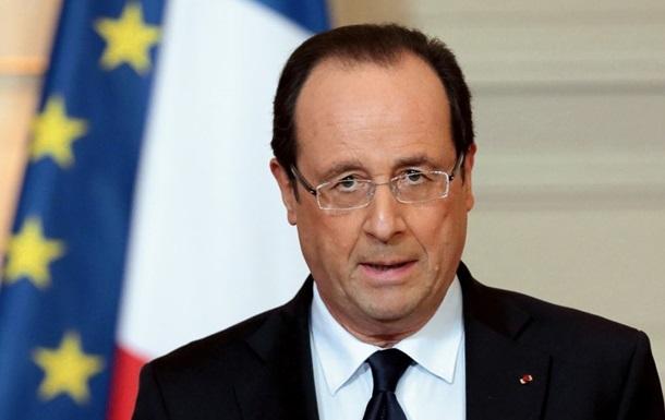 Олланд: Франция выполняет свои контракты по поставке Мистралей