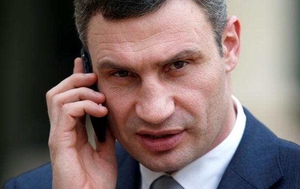 Кличко сложил депутатские полномочия