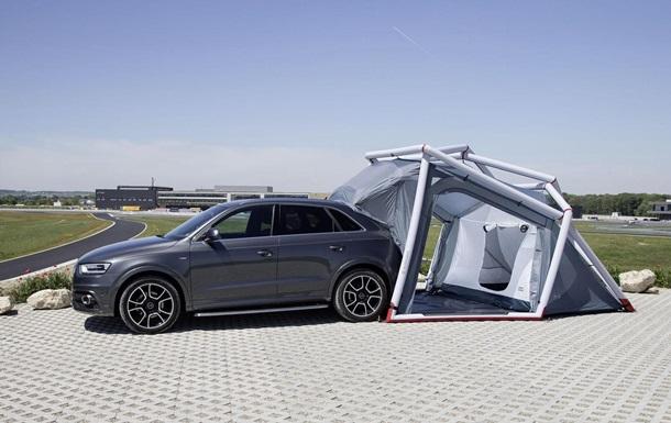 Audi переделала кроссовер Q3 специально для туристов