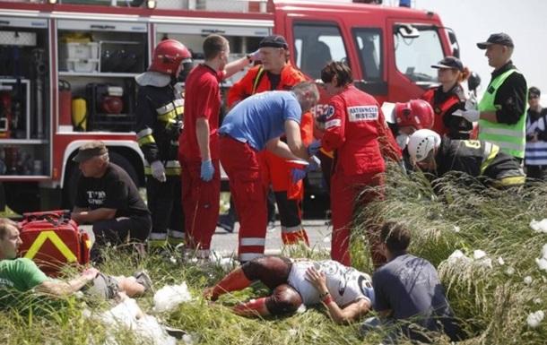 В МИД подтвердили гибель семерых украинцев в аварии под польским городом Гоголин