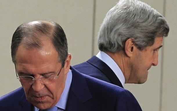 Встреча Лаврова и Керри: Украина должна стать мостом между Востоком и Западом