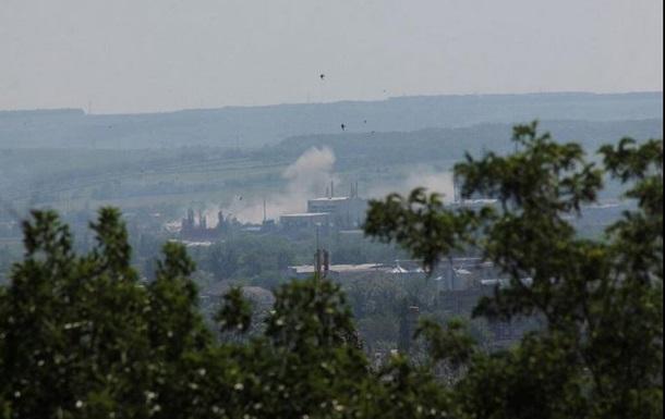 Силовики используют танки в наступлении возле Семеновки
