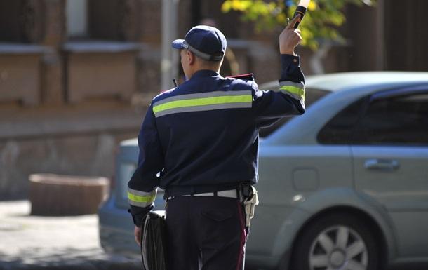 В Киеве задержан водитель с шестью мешками комплектующих к пулемету