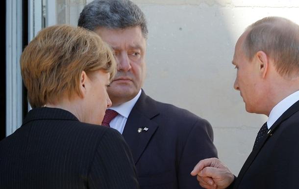 Путин и Порошенко решили урегулировать кризис в Украине мирным путем - Песков