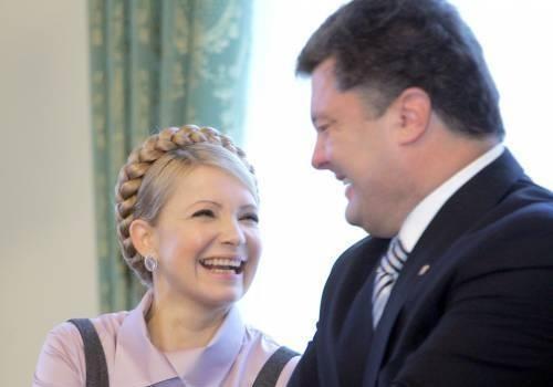 Начало инаугурационной речи Порошенко уже произносила раньше...Тимошенко