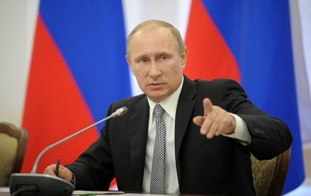 Путин приказал ФСБ усилить охрану границ с Украиной