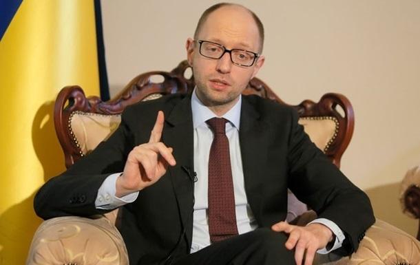 Яценюк обсудил с премьером Казахстана вопросы двустороннего сотрудничества