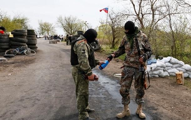 В Донецке представители ДНР установили новый блокпост