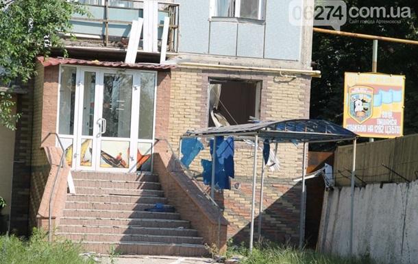 В Артемовске неизвестные напали на танковую базу