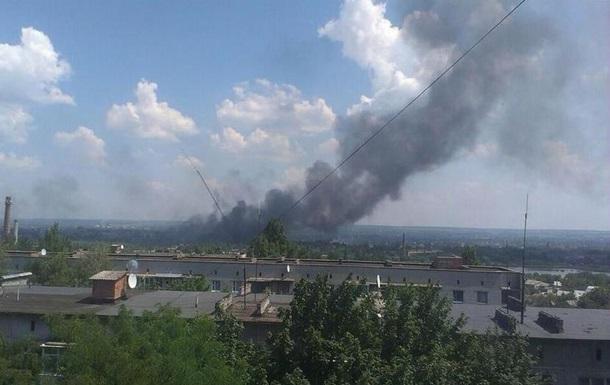 На АЗС в Славянске произошел взрыв - ополченцы